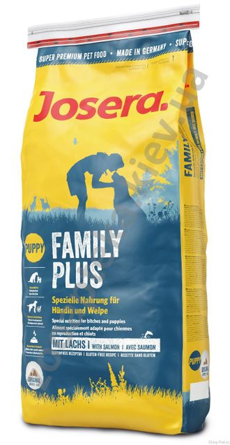 Josera Super Premium Special Family Reproduction & Puppy Poultry / ДЖОСЕРА (ЙОЗЕРА) ФЭМИЛИ Сухой корм для щенков, беременных и лактирующих собак ДОМАШНЯЯ ПТИЦА 15 кг
