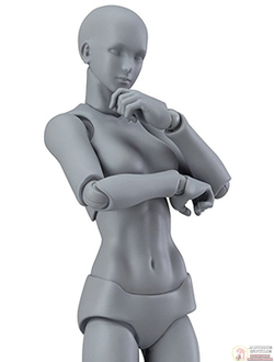 Фигурка фигма (FIGMA ARCHETYPE NEXT: SHE - GRAY COLOR VER.)
