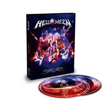 HELLOWEEN - United alive 2-Blu-ray Digibook