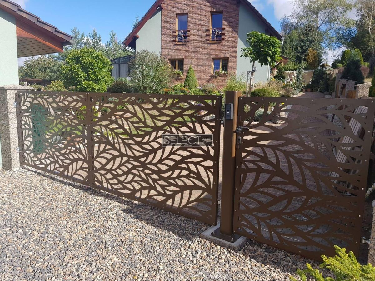 откатные ворота из оцинкованной стали - производство ворот - оциинковка горячая