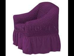 Чехол Стандарт на кресло, цвет Фиолетовый