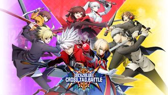 Blazblue Cross Tag Battle Nintendo Switch ( англ версия )