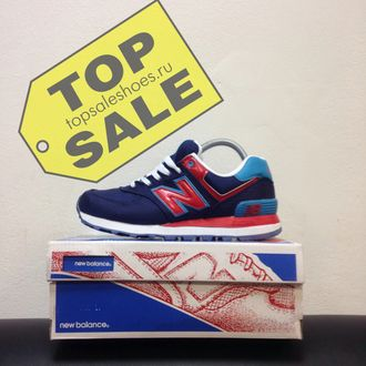 New Balance 574 Passport Pack  Navy