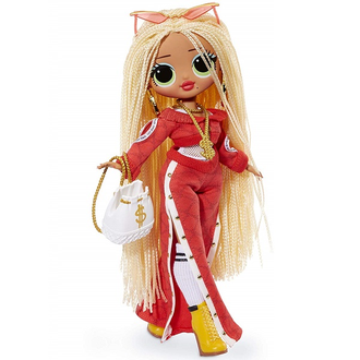 MGA ENTERTAINMENT КУКЛА LOL SURPRISE OMG SWAG FASHION DOLL С 20 СЮРПРИЗАМИ