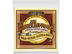 Ernie Ball P02047 Earthwood Silk & Steel Extra Soft (10-50)