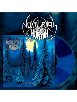 NOKTURNAL MORTUM - Lunar Poetry LP Blue