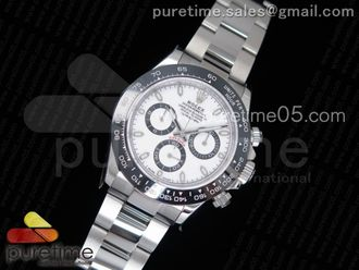 Daytona 116500 White Dial Black Bezel
