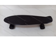 Черный Blackout (Блэкаут) пенни борд 22 PU (penny board 22 black)