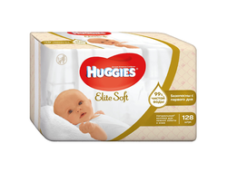 Салфетки «Huggies» Elite Soft, 128 шт.
