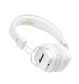 Marshall Major II Bluetooth White в soundwavestore-company.ru