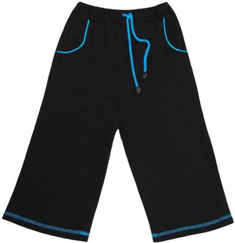 Бриджи для мальчика (Артикул 2128-342) цвет чёрный