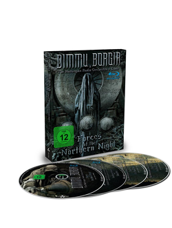 DIMMU BORGIR Forces of the northern night DIGIBOOK 2Blu-ray + 2CD
