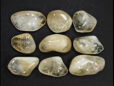 Цитрин (кварц), галтовка в ассортименте, Бразилия (23-32 мм, 6-9 г) №21344
