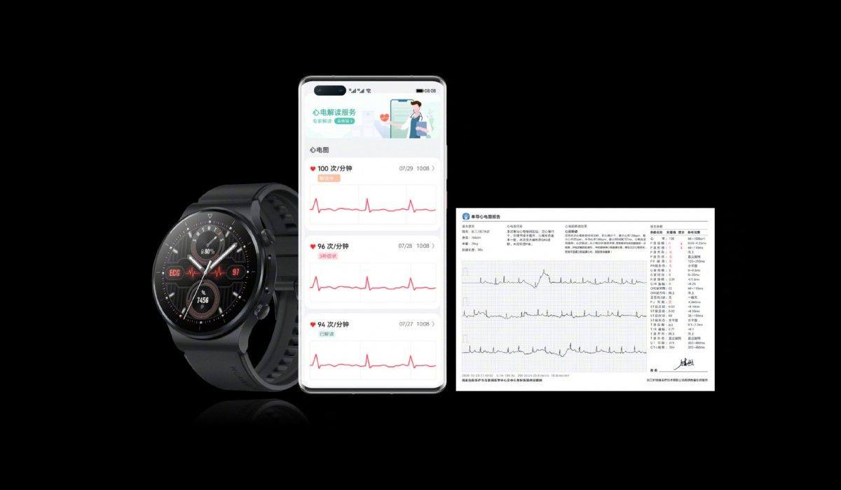 Huawei запускает GT2 Pro с ЭКГ и Band 6 Pro