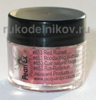 Pearl Ex, red russet 653, вес-3 гр.