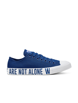 Кеды Converse Chuck Taylor All Star We Are Not Alone Low Top blue