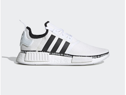 Adidas NMD R1 White/Black бело-черные