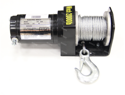 Лебедка Electric Winch 2000 LBS стальной трос