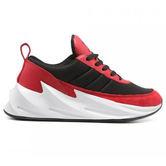 КРОССОВКИ ADIDAS SHARKS RED-BLACK