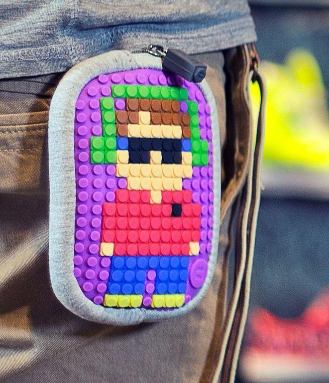 ba8d5ed68262 Маленькая пиксельная сумочка UPixel Lucky Star Черный-зеленый