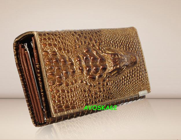 7ed420ef3a9b женский кошелек, кожа крокодила, натуральная кожа, крокодил, красивый,  удобный, купить