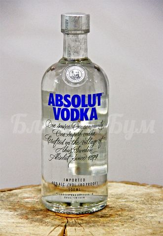 Водка Absolut Vodka