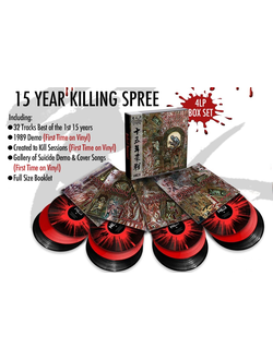 Cannibal Corpse -  15 Year Killing Spree 4-LP BOX Black