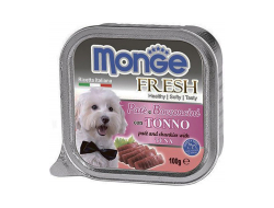 Консервы для собак MONGE DOG FRESH, тунец - 100 грамм