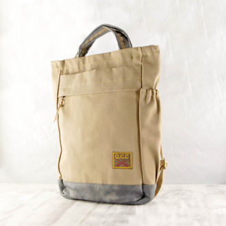 "Сумка-рюкзак Old Cotton Cargo ""Tony bag brand"" бежевый"