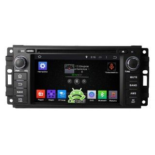 CarDroid RD-2201D для Jeep 2005-2008 (Android 8.0)