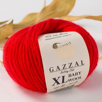Gazzal Baby Wool XL 811 красный