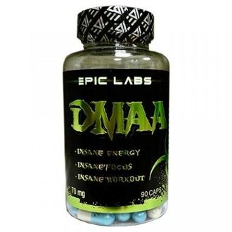 (EPIC LABS) DMAA 70mg - (90 капсул)