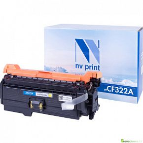 КАРТРИДЖ NV PRINT HP CF 322 A Yellow