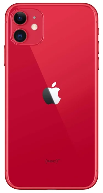 Смартфон Apple iPhone 11 256GB red