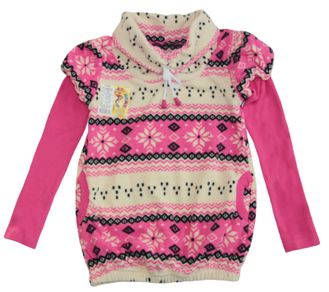 Туника (Артикул 598-523) цвет розовый