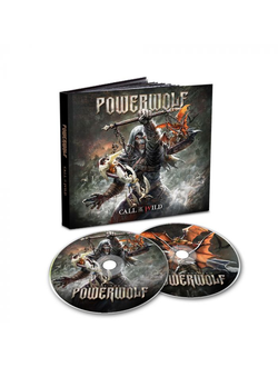 POWERWOLF - CALL OF THE WILD 2-CD Mediabook