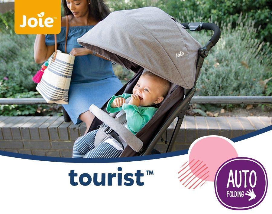 Прогулочная коляска Joie Tourist идеально подходит для любого времени года