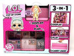 MGA Entertainment L.O.L.Surprise Набор 3 в 1 Pop-up Store Подиум ЛОЛ, 552314
