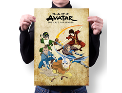 Плакат Аватар: Легенда об Аанге / Avatar: The Last Airbender №1