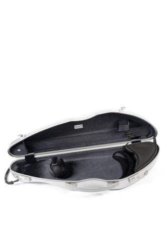 Кейс для скрипки La Defence Bam Hightech Slim Violin case -  Brushed Aluminum
