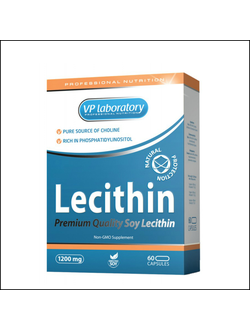 Лецитин VP Lab Lecithin 1200mg 60 cap