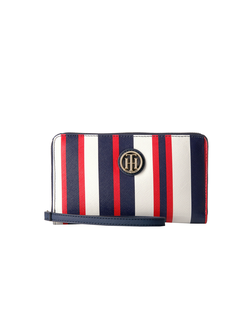 Tommy Hilfiger Tommy Painted Stripe Wristlet