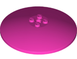 Dish 8 x 8 Inverted Radar - Solid Studs, Dark Pink (3961 / 6292812)