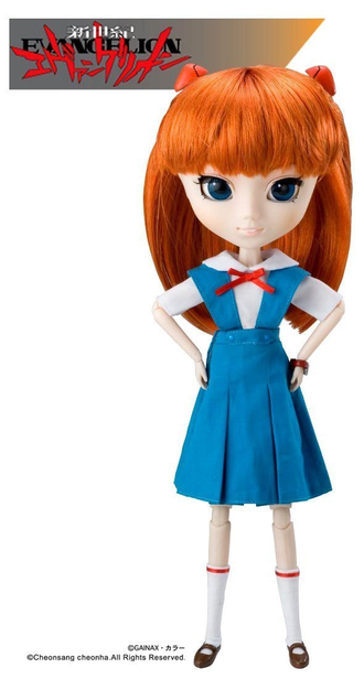 Кукла Pullip Аска Лэнгли Сорью (Souryuu Asuka Langley)