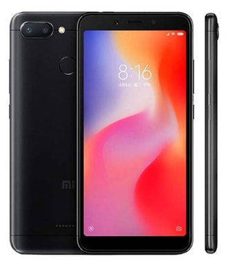 Смартфон Xiaomi Redmi 6 3/32GB Black Черный EU GLOBAL VERSION
