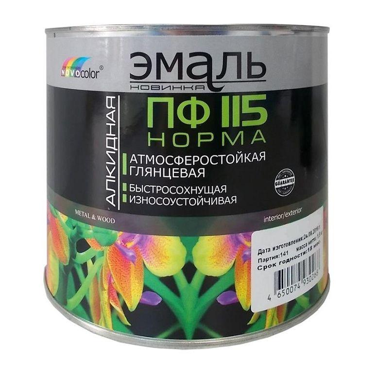 Сертификат на материалы лакокрасочные — эмали ПФ 115, ПФ ...