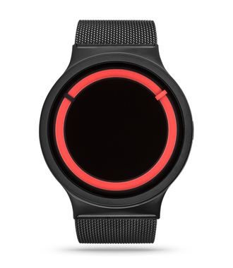 ECLIPSE Steel Black Red 43 мм