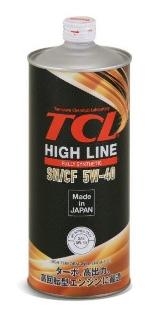 Масло моторное TCL High Line 5W-40 1л H0010540