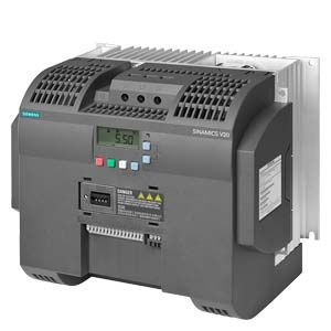 6SL3210-5BE32-2UV0 SINAMICS V20 380-480 V 3AC -15%/+10% 47-6 Rated power 22 kW with 150% overload for 60 sec. small output overload: 30 kW