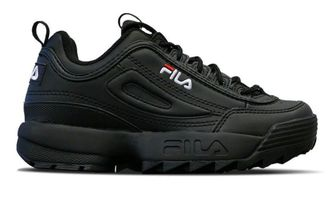 Кроссовки FILA DISRUPTOR 2 All Black Winter